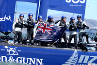 Country: New ZealandTeam: NZL Sailing Team with Emirates Team New Zealand(2)Yacht Club: Yachting New ZealandSkipper: Peter Burling (22, Auckland, New Zealand)