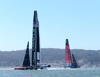 Emirates Team New Zealand, Oracle Team USA